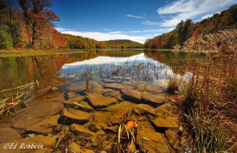Summit Lake, Greenbrier County, Monongahela National Forest, Allegheny Highlands Region
