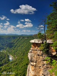 Thunder Buttress at Beauty Mountain, Fayette County, New River Gorge Region