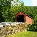 Carrollton Covered Bridge, Carrollton, Barbour County, Monongahela Valley Region