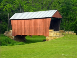 Center Point Covered Bridge, Doddridge Count, Heartland Region.
