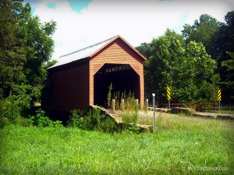 Barrackville Covered Bridge, Barrackville, Marion County, Monongahela Valley Region.