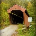 Fletcher Covered Bridge northeast of Salem, Harrison County, Monongahela Valley Region.
