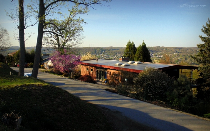 View from Fort Scammon, Charleston, West Virginia, Kanawha County, Metro Valley Region