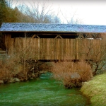 Indian Creek Covered Bridge, Salt Sulphur Springs, Monroe County, Greenbrier Valley Region