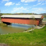 Mud River Covered Bridge, Milton, Cabell County, Metro Valley Region