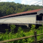 Philippi Covered Bridge, Philippi, WV, Barbour County, Monongahela Valley Region