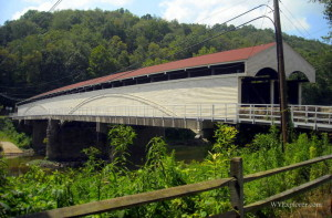 Philippi Covered Bridge   West Virginia Explorer