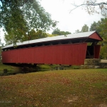 Staats Mill Covered Bridge, Cedar Lakes Conference Center, Jackson County, Mid-Ohio Valley Region