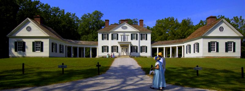 Blennerhassett Mansion, Blennerhassett Island Historical State Park