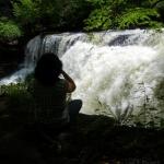 Dunloup Falls near Thurmond, West Virginia