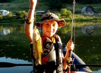 Fishing on Tygart River