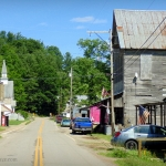 Main Street in Auburn West Virginia (WV)
