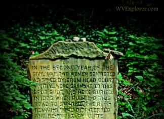 Spy monument on Carriage Trail, Charleston, West Virginia