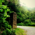 Column on the Carriage Trail, Charleston, West Virginia