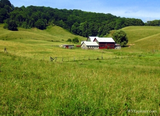 Farm at Shady Spring, West Virginia, Raleigh County, New River Gorge Region