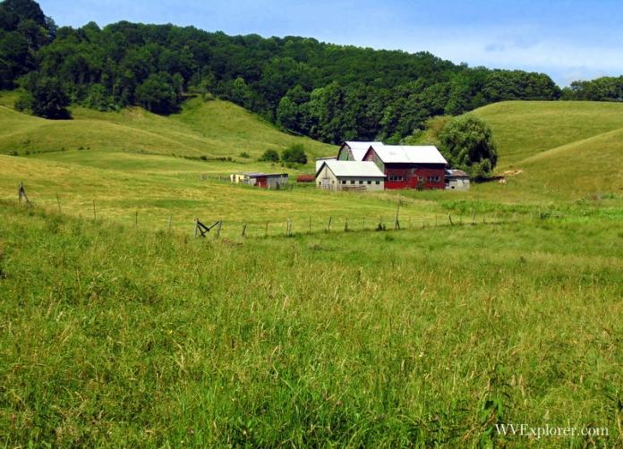 Farm at Shady Spring, West Virginia, Raleigh County, New River Gorge Region