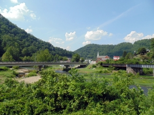 Guyandotte River, Gilbert, West Virginia, Mingo County, Hatfield & McCoy Region