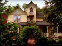Jarius Collins Home, Bramwell, West Virginia, Mercer County, Bluestone Country
