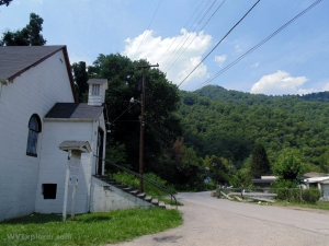 Mallory Hollow Road at Mallory, West Virginia, Logan County, Hatfield & McCoy Region