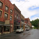 Barger Street in Matoaka, West Virginia, Mercer County, Bluestone Region