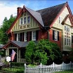 Perry House at Bramwell, West Virginia, Mercer County, Bluestone Region