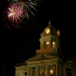 Fireworks at Ripley, West Virginia, Jackson County, Mid-Ohio Valley Region
