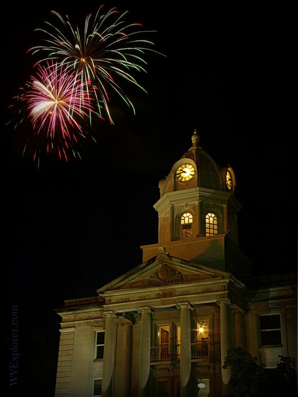July 4 at Ripley, West Virginia