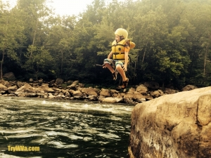 Taking the plunge on New River
