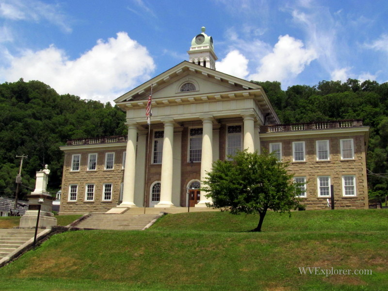 Wyoming County Court House, Pineville, West Virginia, Hatfield & McCoy Region