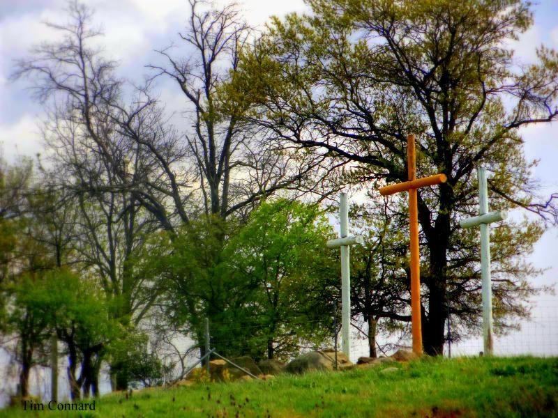 Crosses near Weyer's Cave, Va.