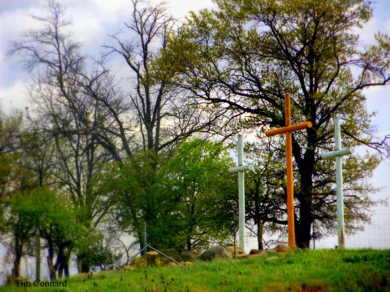 Crosses on I-81