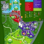 Map of Dublin Irish Festival 2014