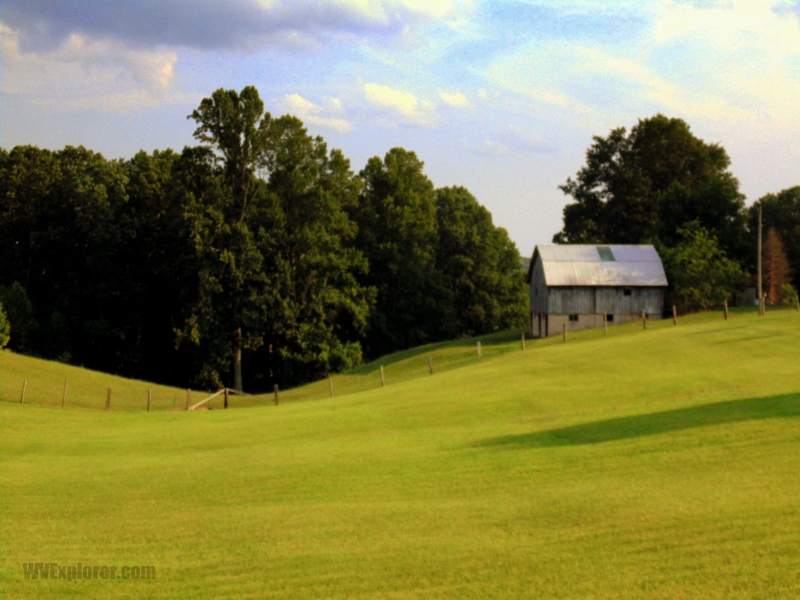 Pasture at Piney View, West Virginia, Raleigh County