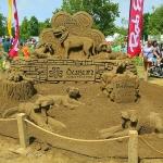 Dublin Irish Festival Sand Sculpture 2014
