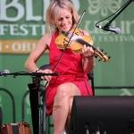 Sharon Shannon performs on fiddle, Dublin Irish Festival 2014