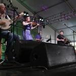 Members of Solas perform, Dublin Irish Festival