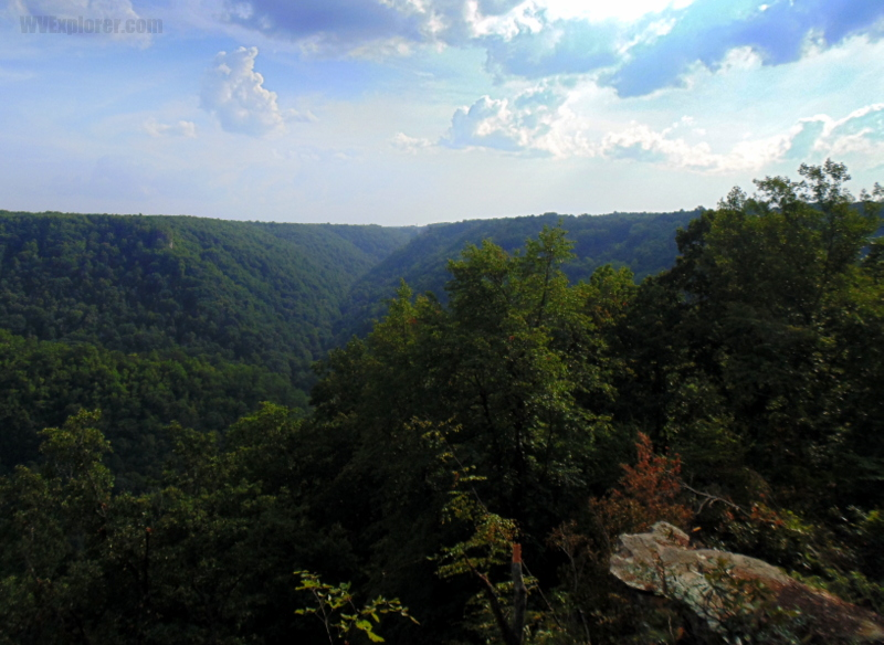View of Piney Creek Gorge, Stanaford, West Virginia, Raleigh County