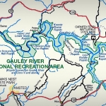 WV Road Map of Gauley River