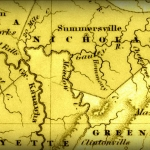 1838 showing Gauley River in south-central West Virginia