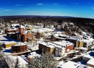 """Fayetteville in Winter"" by Tim Naylor"
