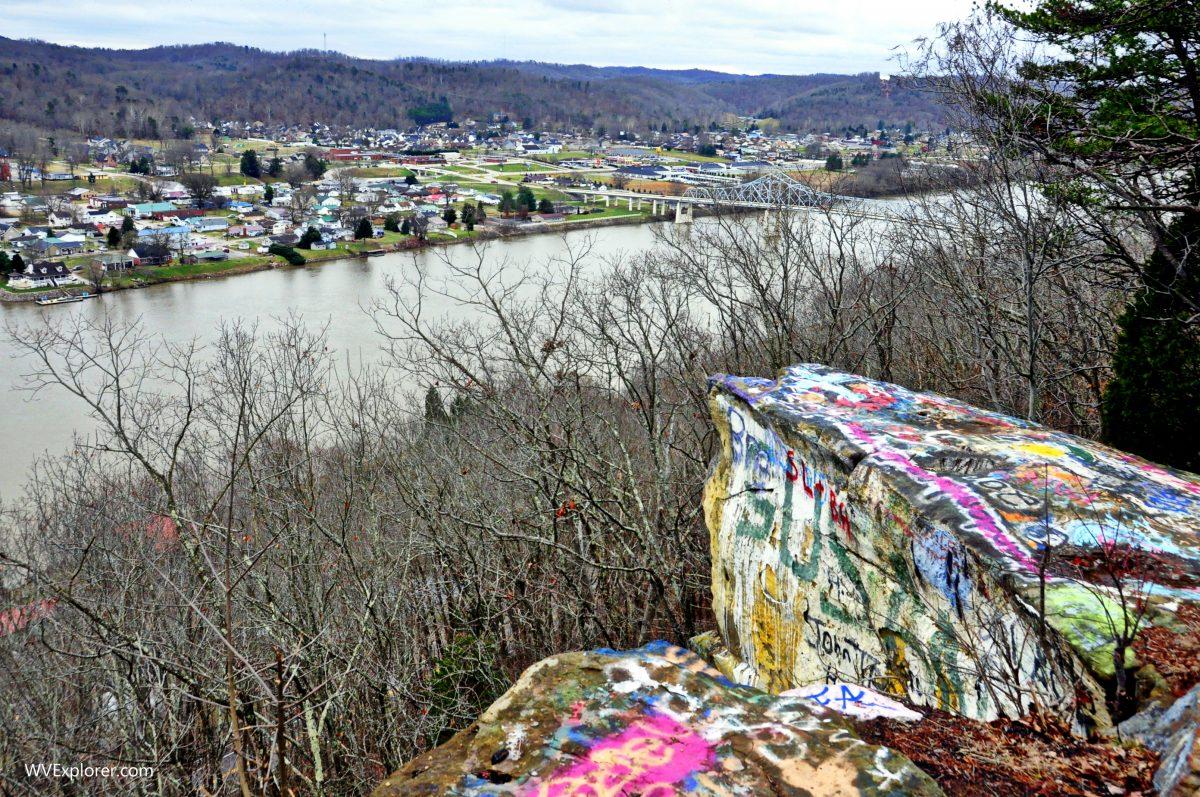 Red House Rocks, West Virginia