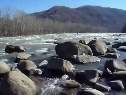 Just-spring on New River