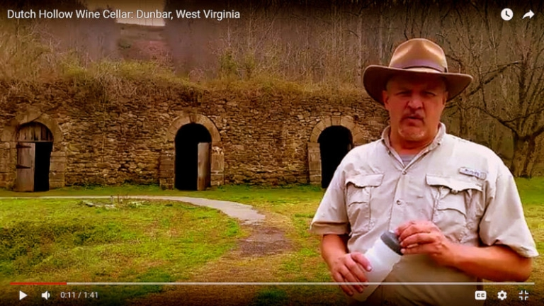 Wine cellar among the more interesting ruins in West Virginia