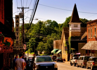 Court Street, Fayetteville West Virginia (WV)