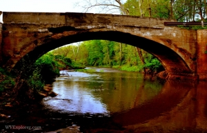 Bridge over Eighteenmile Creek at Extra, WV