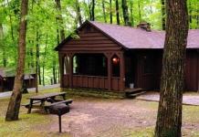 Cabin at Babcock State Park