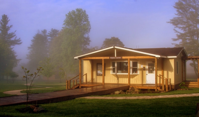 Visitor Center at Grandview, New River Gorge National River
