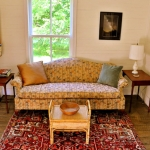 Heirlooms complement bright interiors