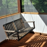 Porch swing at Five Springs
