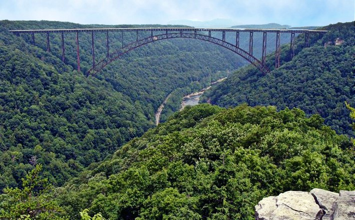 Construction on New River Gorge trail to Long Point set for mid-week days